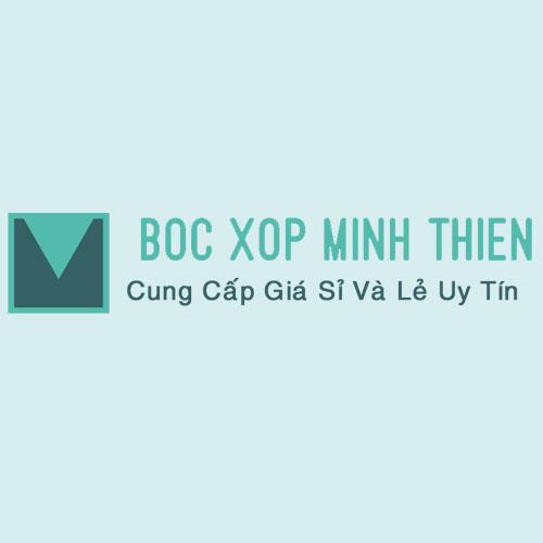 Logo boc xop Minh thien